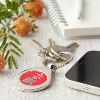 Swirl keychain key chain