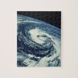 Swirl of Clouds over the Earth Jigsaw Puzzle