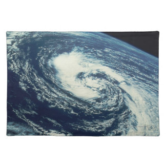 Swirl of Clouds over the Earth Placemat