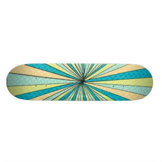 Swirl skateboard