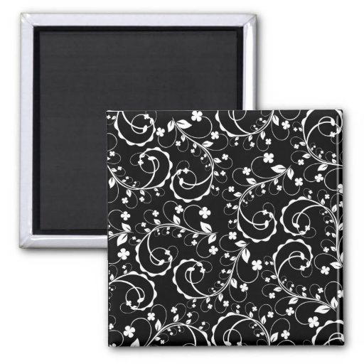swirl square magnet