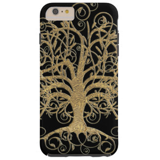 Swirl Tree You Choose Background Color Tough iPhone 6 Plus Case