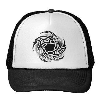 Swirl Tribal Tattoo Design Cap