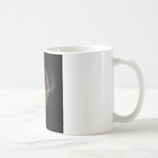 Swirled heart basic white mug