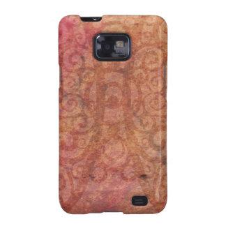 Swirled Parchment Samsung Galaxy SII Cases