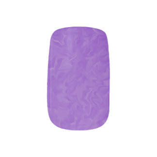 Swirled Purple Abstract Design Nail Art Stickers