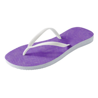 Swirled Shades of Purple Flip Flops