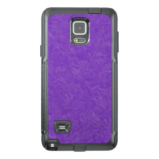Swirled Shades of Purple OtterBox Samsung Note 4 Case