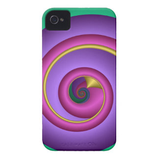 Swirling abstract iPhone 4 case