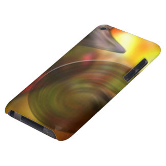 Swirling Abstract of Colors Barely There iPod Cases