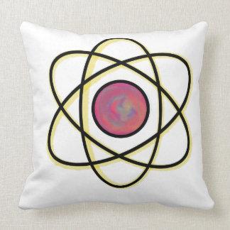 Swirling Atom Cushion