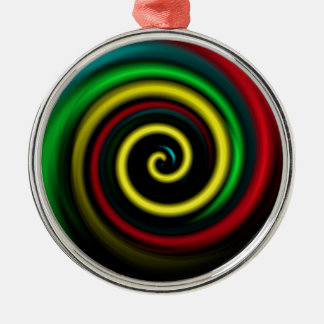 Swirling colours. ornament
