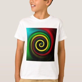 Swirling colours. T-Shirt