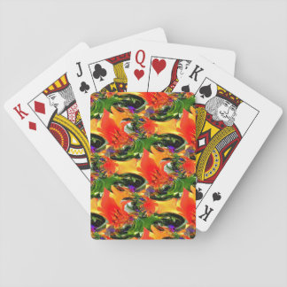 Swirling Delight... Playing Cards