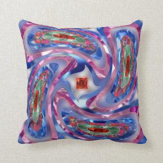 Swirling Design Pillow Throw Cushions