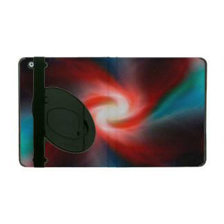 Swirling explosion in space iPad case
