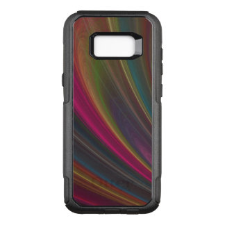 Swirling Fine Rainbow of Colors OtterBox Commuter Samsung Galaxy S8+ Case