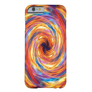 Swirling fire storm barely there iPhone 6 case
