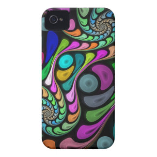 Swirling fractal abstract Case-Mate iPhone 4 case
