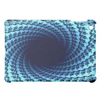 Swirling Fractal Illusion iPad Mini Cover