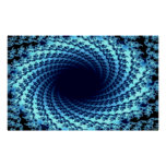 Swirling Illusion Poster