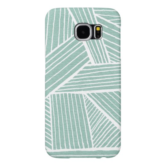 Swirling Lines Samsung Galaxy S6 Cases