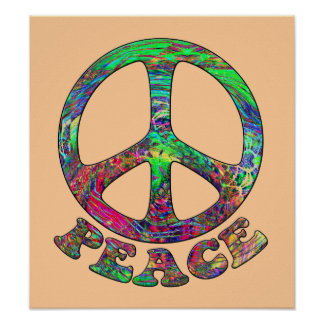 Swirling Peace Posters