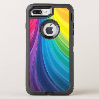 Swirling Rainbow OtterBox Defender iPhone 8 Plus/7 Plus Case