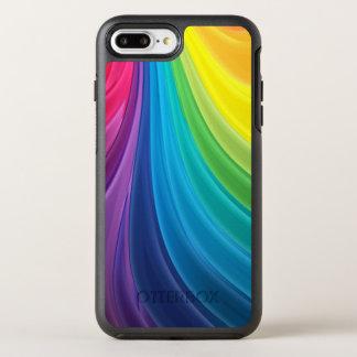 Swirling Rainbow OtterBox Symmetry iPhone 8 Plus/7 Plus Case