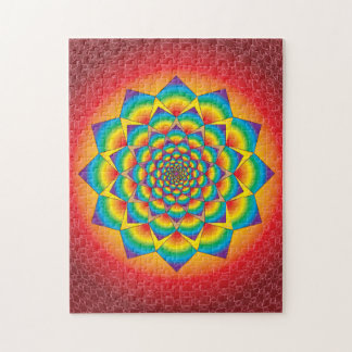 SWIRLING SQUARES PUZZLE