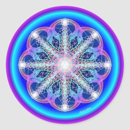 Swirling Vortex of Attraction Sticker