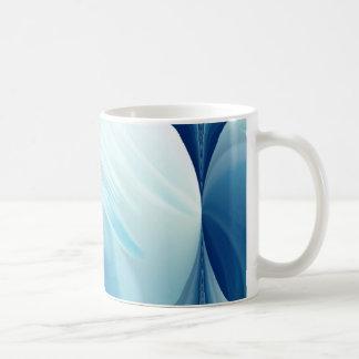 Swirling winds on the blue planet coffee mug