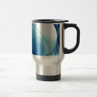 Swirling winds on the blue planet coffee mugs