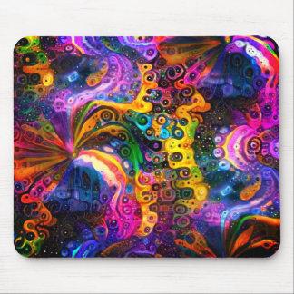 Swirls 3 mouse mat