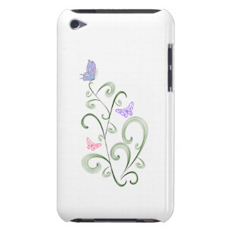 Swirls and Butterflies iPod Case iPod Touch Cases