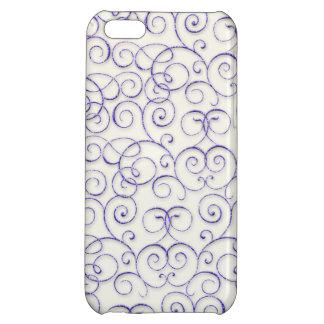 Swirls and Curls iPhone 5C Case