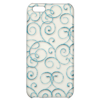 Swirls and Curls iPhone 5C Covers