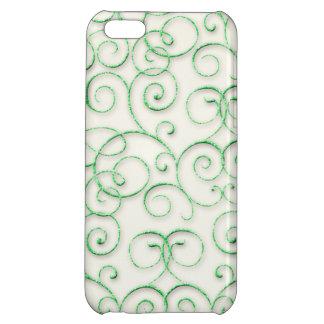 Swirls and Curls iPhone 5C Cases