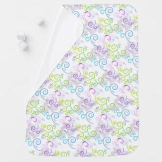 Swirls baby blanket, soft blanket, baby blanket