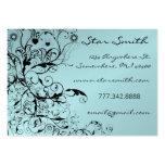 Swirls, Birds & Flowers Business Cards
