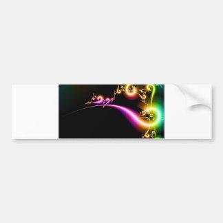 Swirls Bumper Sticker
