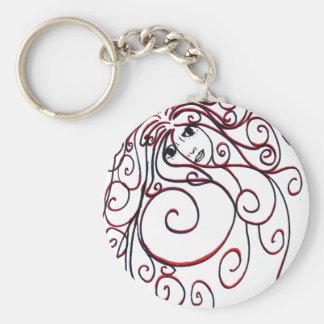 Swirls Key Chain