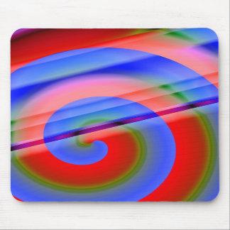 Swirls Mousepads