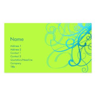 Swirls No. 0001 Business Cards