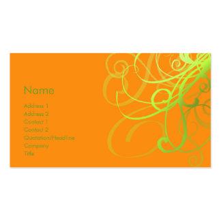 Swirls No. 0002 Business Cards