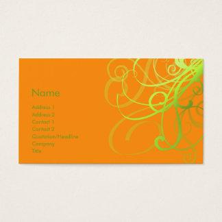 Swirls No. 0002 Business Card