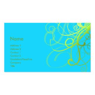 Swirls No. 0004 Business Cards