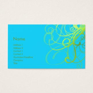 Swirls No. 0004 Business Card