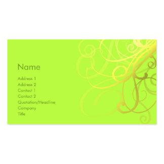 Swirls No. 0006 Business Card Templates