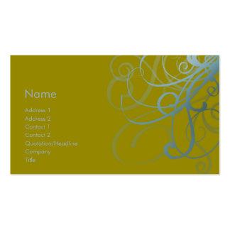 Swirls No. 0012 Business Cards